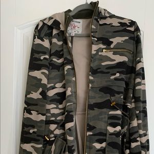 True Religion Camo Coat